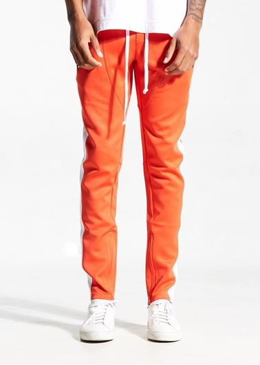 Picture of FB TRACK PANTS ORANGE/WHITE