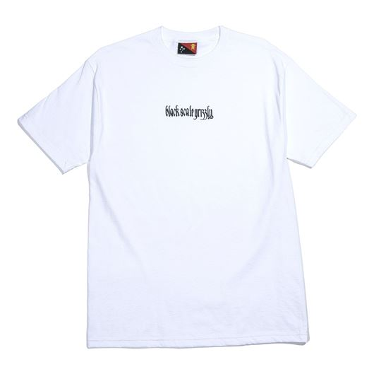 Picture of BLVCK GRIZZLY REPEAT Tee White