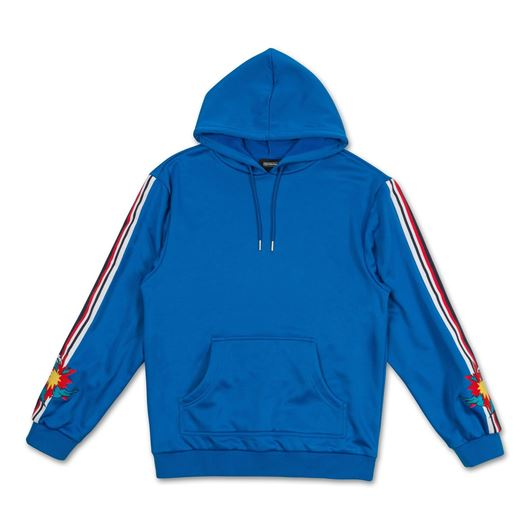 Picture of SHATTERED WAVE HOODIE Blue