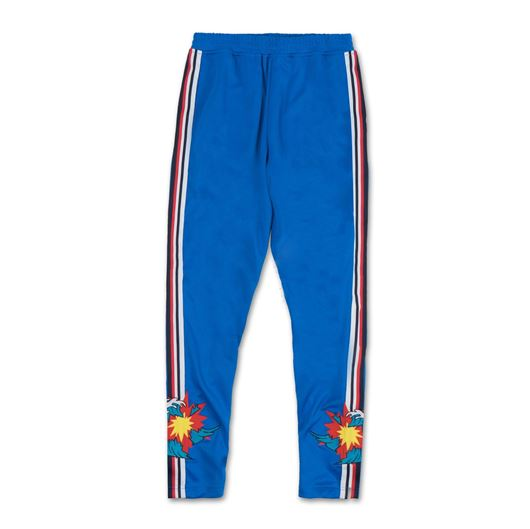 Picture of SHATTERED WAVE TRACK PANT Blue