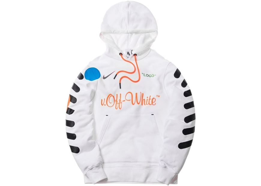 23c28bc44fbc Picture of Nikelab x OFF-WHITE Mercurial NRG X Hoodie White