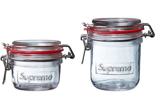 Picture of Supreme Jars (Set of 2) Clear