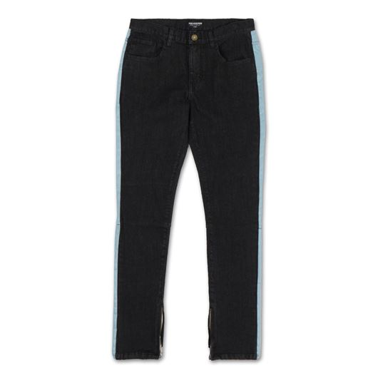Picture of STRIPE DENIM Black