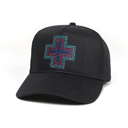 Picture of RHINESTONE PLUS STRAPBACK Black