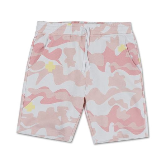 Picture of SPRING MULTI CAMO SHORT Pink
