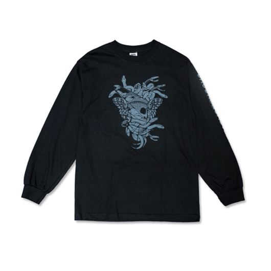 Picture of SLICED L/S Tee Black