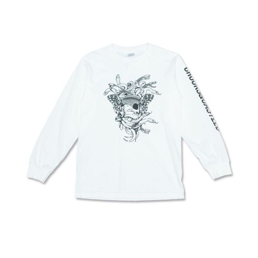 Picture of SLICED L/S Tee White