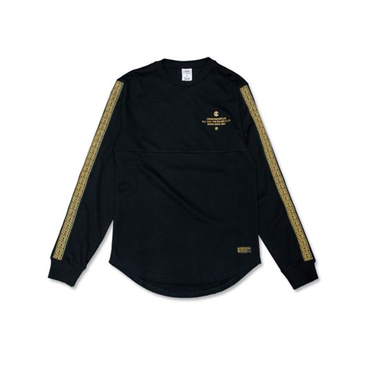 Picture of SQUAD L/S Tee Black