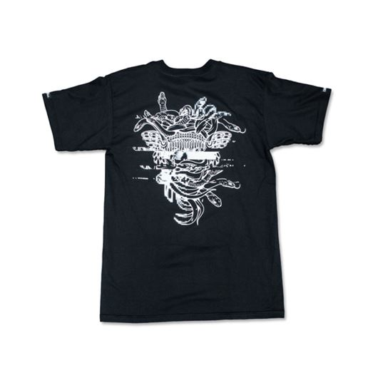 Picture of GALACTIC MEDUSA Tee Black
