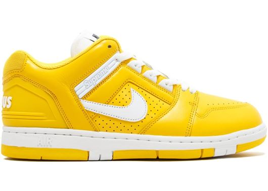 Picture of Nike SB Air Force 2 Low Supreme Yellow
