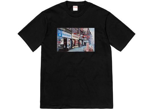 Picture of Supreme Hardware Tee Black