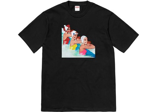 Picture of Supreme Swimmers Tee Black