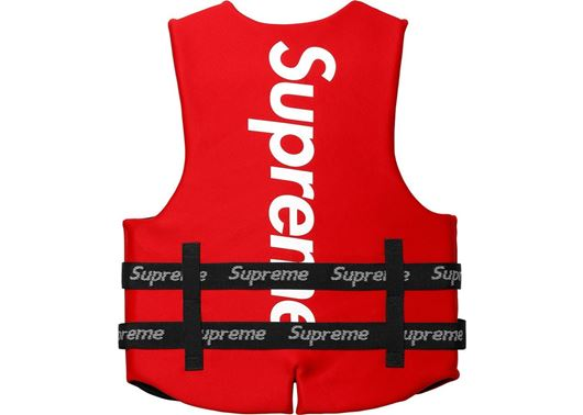 Picture of Supreme O'Brien Life Vest Red