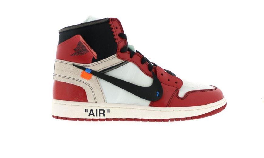 60a370e3f6f96 Picture of Jordan 1 Retro High Off-White Chicago