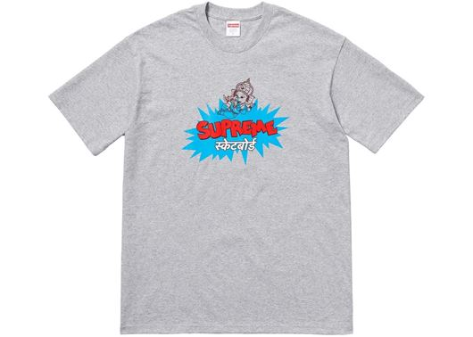 Picture of Supreme Ganesha Tee Grey