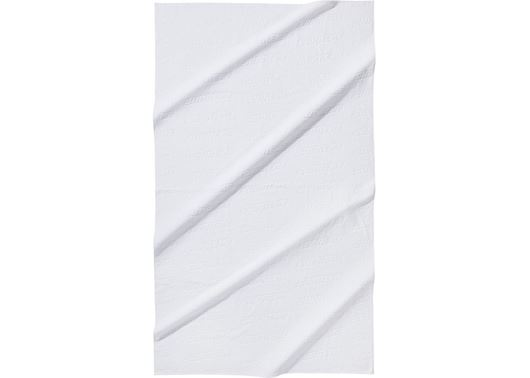 Picture of Supreme Debossed Logo Beach Towel White