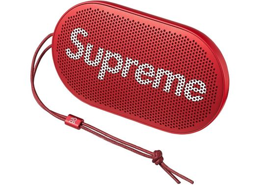 Picture of Supreme B&O PLAY by Bang & Olufsen P2 Wireless Speaker Red
