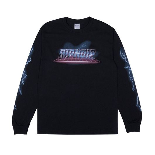 Picture of Rave L/S Tee Black