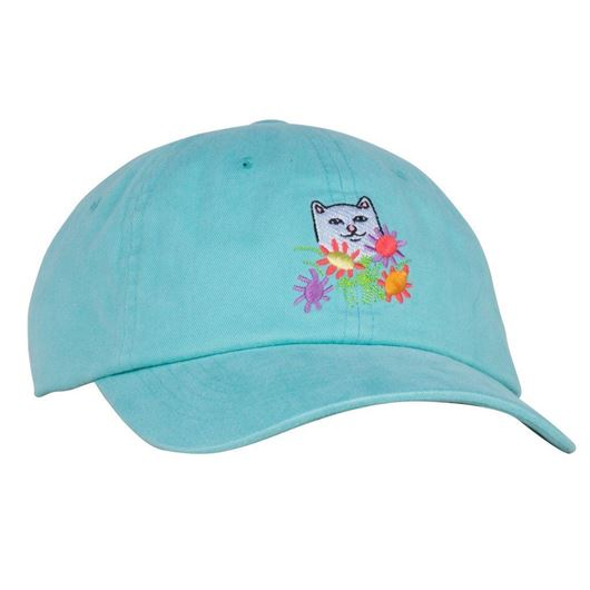Picture of Flowers For Bae Dad Hat Mint