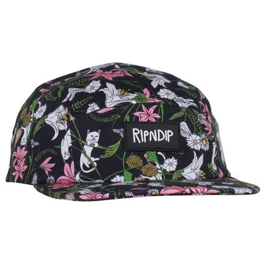 Picture of Nerm Flower 5 Panel  Black