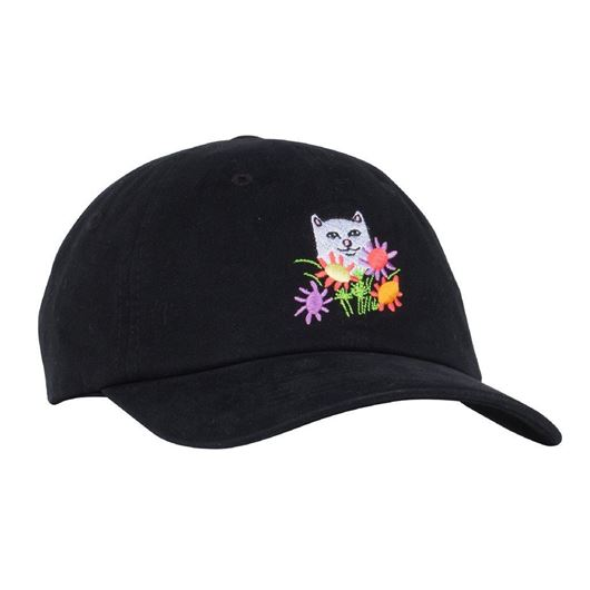 Picture of Flowers For Bae Dad Hat Black