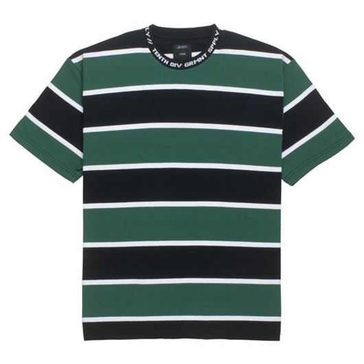 Picture of 24HR STRIPED S/S Green