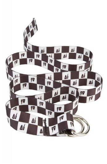 Picture of CHECK D-RING BELT White