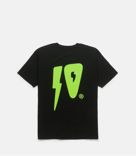 Picture of 10 STRIKES TEE Black