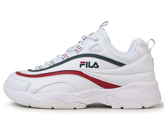 Picture of Fila Ray White/Green/Red