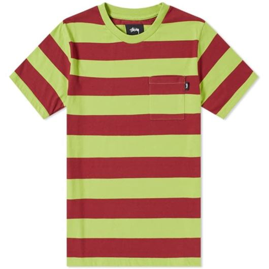 Picture of NOLAN STRIPE JERSEY Lime