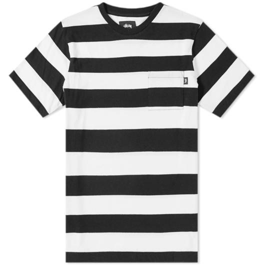 Picture of NOLAN STRIPE JERSEY Black