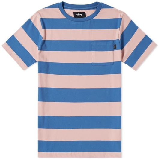 Picture of NOLAN STRIPE JERSEY Blue