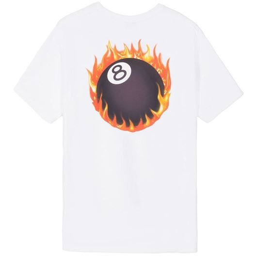 Picture of FIREBALL TEE White