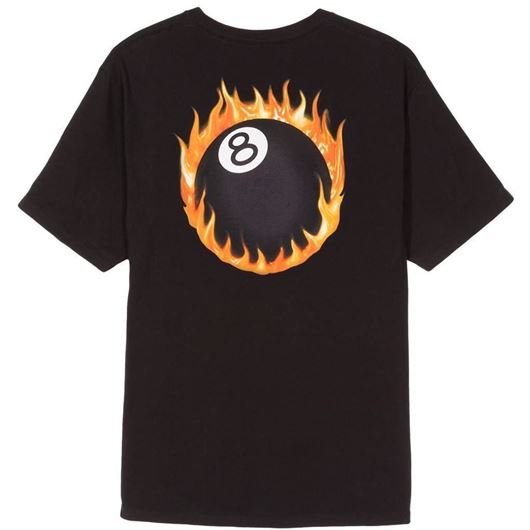 Picture of FIREBALL TEE Black
