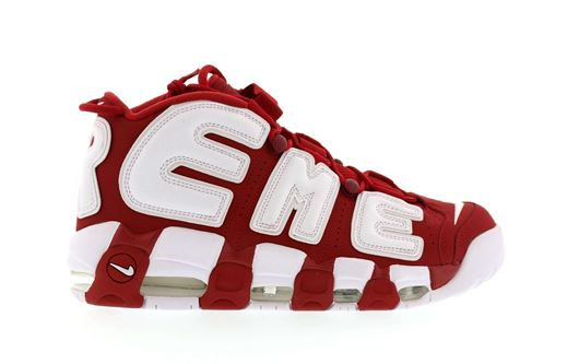 Picture of Supreme x Nike Air More Uptempo Red