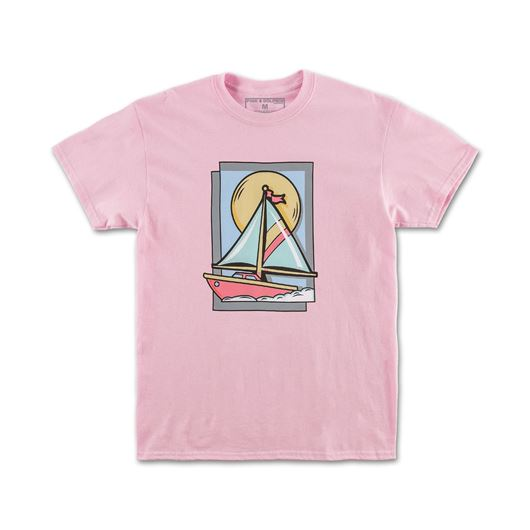 Picture of SAIL FRAME TEE Pink