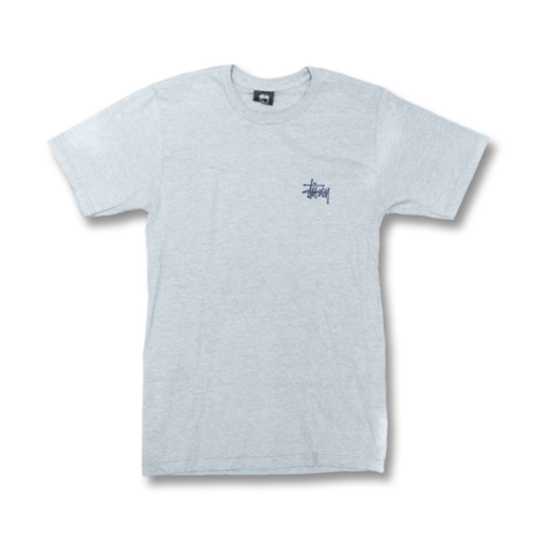 8fac245dfd35 ... Picture of BASIC STUSSY TEE GREY HEATHER