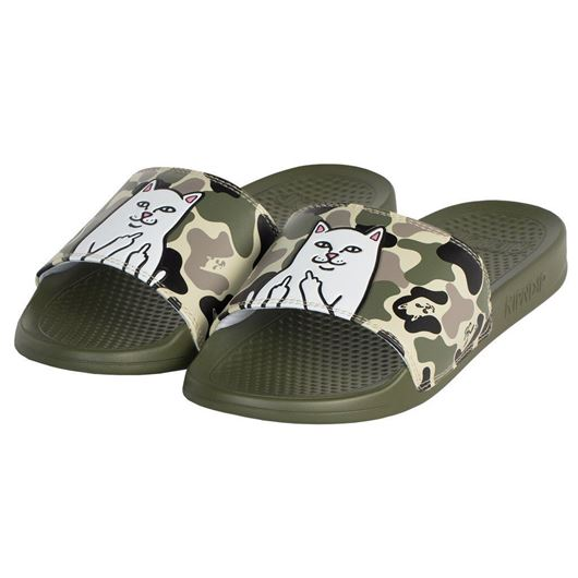 Picture of Lord Nermal Slides Army Camo