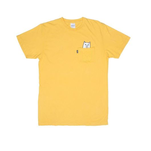 Picture of Lord Nermal Pocket Tee Yellow