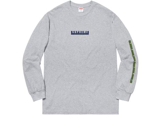 Picture of Supreme 1994 LS Tee Heather Grey