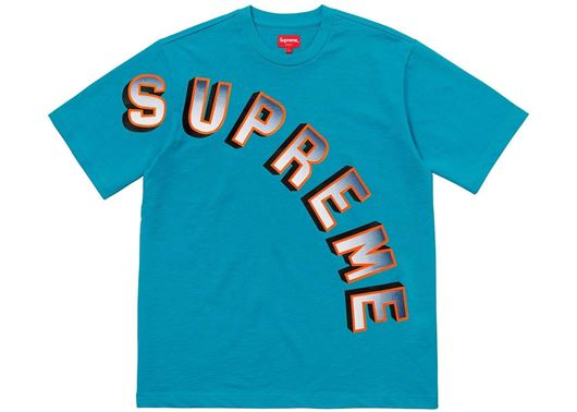 Picture of Supreme Gradient Arc Top Teal