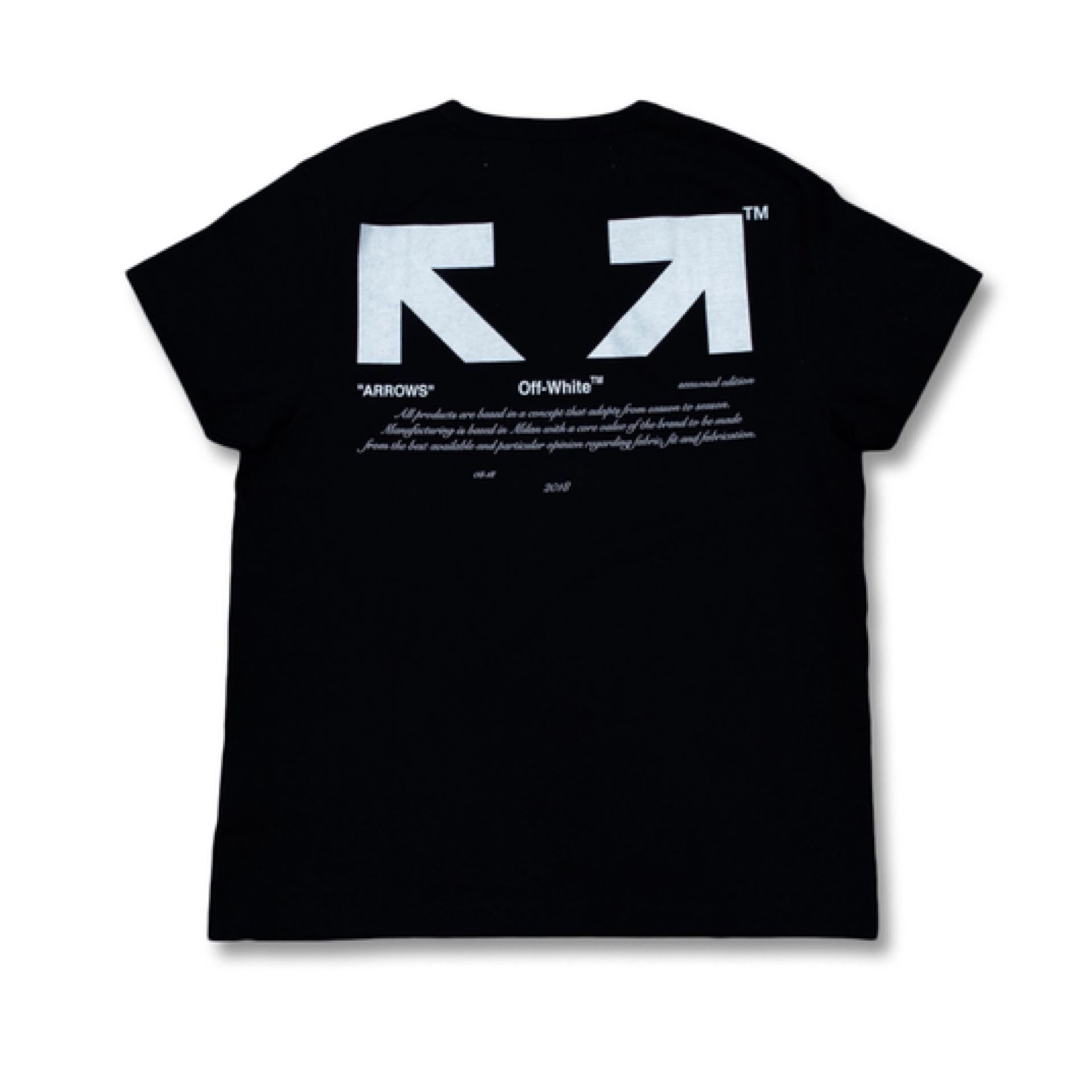 db8fafe869de ... Picture of OFF-WHITE For ALL 03 Tee Black