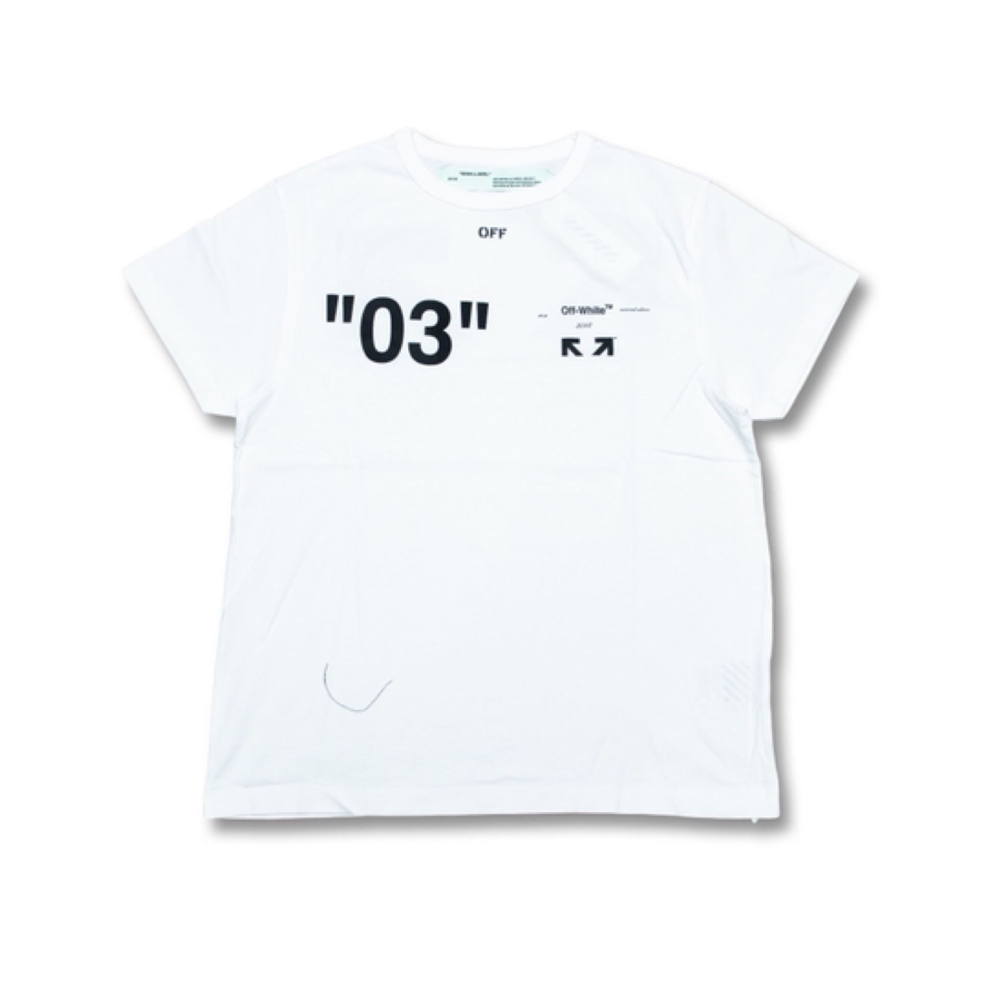 896fc9e35343 Picture of OFF-WHITE For ALL 03 Tee White ...