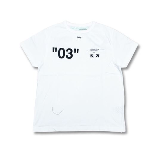Picture of OFF-WHITE For ALL 03 Tee White
