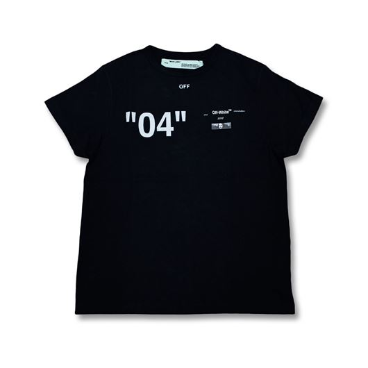 Picture of OFF-WHITE For ALL 04 Tee Black