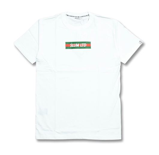 Picture of RG Stripes Box Tee White