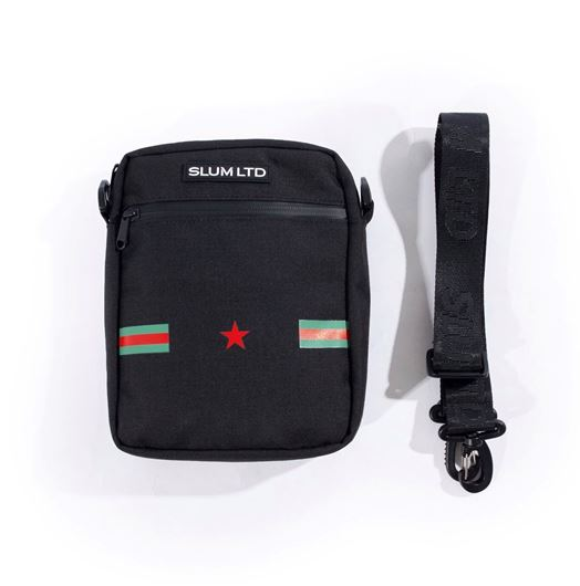 Picture of RG Stripes Shoulder Bag Black