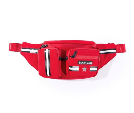 Picture of RG Stripes Waist Bag Red