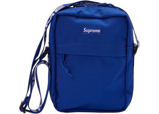 Picture of Supreme Shoulder Bag (SS18) Blue
