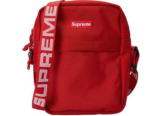 Picture of Supreme Shoulder Bag (SS18) Red